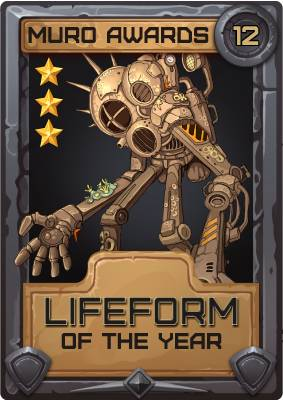 Lifeform of the Year 2012