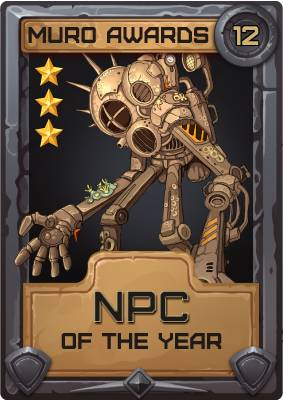 NPC of the Year 2012
